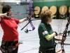 8495 Kleines Finale um die Bronzemedaille - Irene Dotzel links gegen Christine Stohrer.
